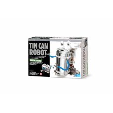 Robot de 4M Kidz Lab Fun Mechanics de Tin