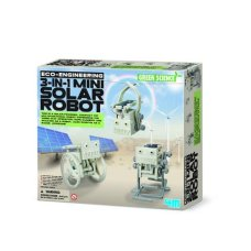 Mini robot solaire Solar Engineering de 4M Kidz Lab