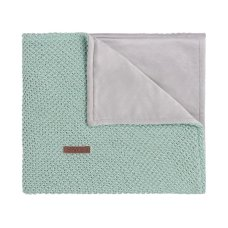 Couverture pour bébé Babies Only Soft Flavor Sparkle Gold-Mint Melange