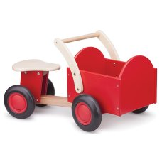 New Classic Toys Tricycle en bois rouge
