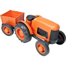 Green Toys Tracteur Orange