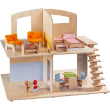 Haba Little Friends Dollhouse City Villa