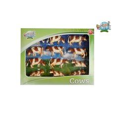 Enfants Globe Vaches Red Fur 1:32