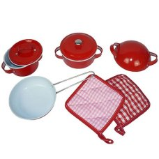 Playwood Pan Set Rouge