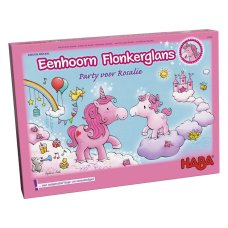 Haba jeu Unicorn Glitter Party pour Rosalie