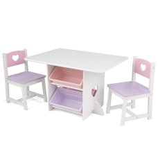 KidKraft Set de table et chaises Hearts