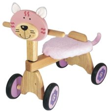 Je suis Toy Balance Bike Poes Rose