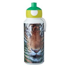 Bouteille d'eau potable Campus Pop-Up 400 ml Animal Planet Tiger Green