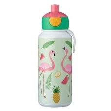 Bouteille d'eau potable Campus Pop-Up 400 ml Flamant tropical