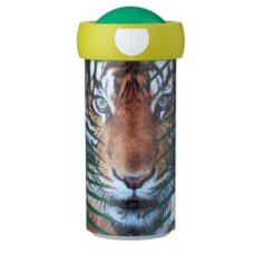 Tasse Scolaire Campus 300 ml Animal Planet Tigre Vert