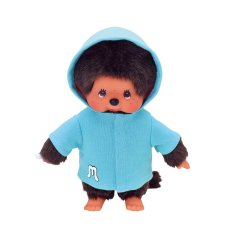 Ensemble de vêtements Monchichi Blue Parka avec capuche