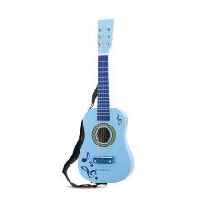 New Classic Toys Guitar Blue avec Notes de musique