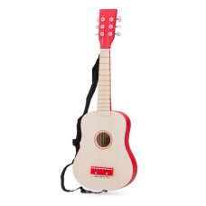 Nouveau Classic Toys Guitar the Luxe Blank avec Red