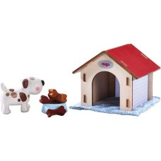 Haba Dollhouse Play Set Chien Chanceux