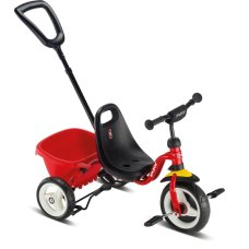 Puky tricycle Red Ceety avec poussoir