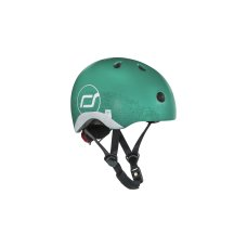 Scoot and RideCasque avec reflet XS Forest
