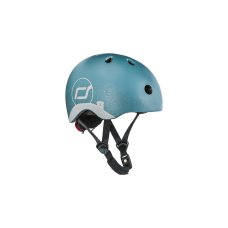 Scoot and Ride Casque avec reflet XS Steel